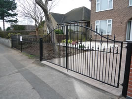 Wrought Iron Gates Nottingham